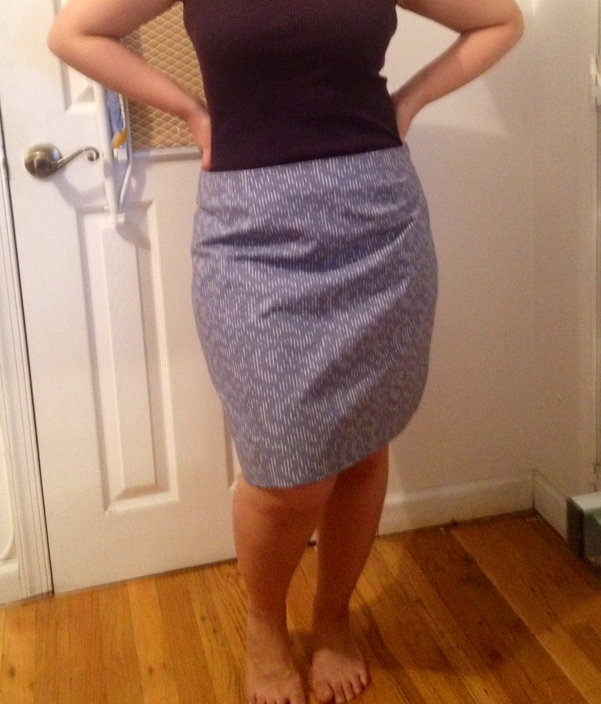 Finished skirt!